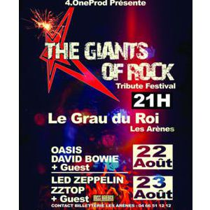 Festival The Giants Of Rock - Le Grau Du Roi - Arenes