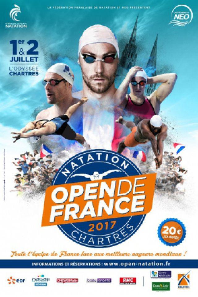 Open de France de natation 2017 - Pass 2 jours @ L'Odyssée - CHARTRES