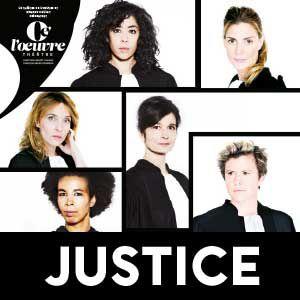 JUSTICE @ THEATRE DE L'OEUVRE - PARIS