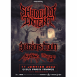 Concert SHADOW OF INTENT + AVERSIONS CROWN + GUEST à PARIS @ Gibus Live - Billets & Places