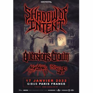 Shadow Of Intent + Aversions Crown + Guest
