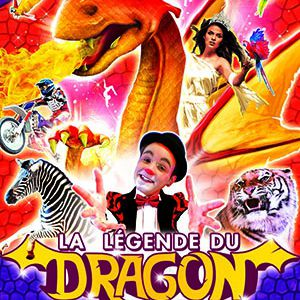 "Le Grand Cirque Medrano ""La Légende Du Dragon"" À Chatellerault"
