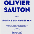 Spectacle Fabrice Luchini et moi