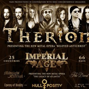 THERION THE NEW METAL OPERA @ THE ROCK'N'ROLL STAGE - CHARMES
