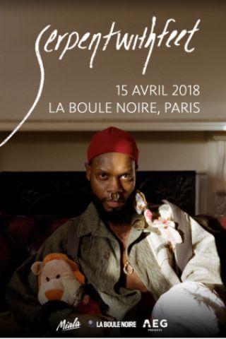 Concert Serpentwithfeet - La Boule Noire à PARIS - Billets & Places