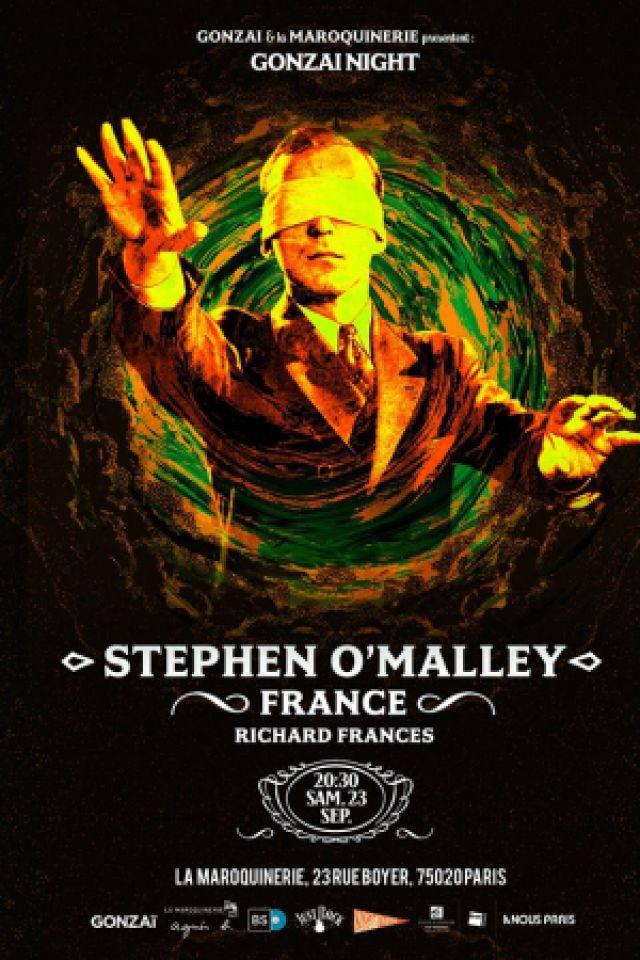 STEPHEN O'MALLEY (Sunn O))) + FRANCE + RICHARD FRANCES @ La Maroquinerie - PARIS
