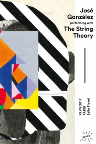 Concert JOSE GONZALEZ & THE STRING THEORY à Paris @ Salle Pleyel - Billets & Places