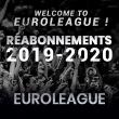 Match RE-ABONNEMENT 2019/2020 EUROLEAGUE à Villeurbanne @ Astroballe - Billets & Places