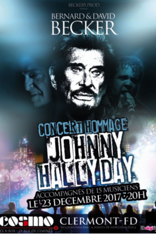 HOMMAGE JOHNNY HALLYDAY  @ COSMO - CLERMONT FERRAND