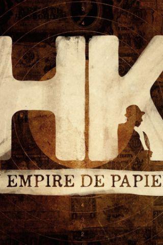 Billets HK l'Empire de papier + TchaPakan - SALLE DES ARTS D'AZUR