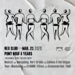 "Soirée PONT NEUF 4 YEARS ""HEXAGONAL CLUB"" RELEASE PARTY"