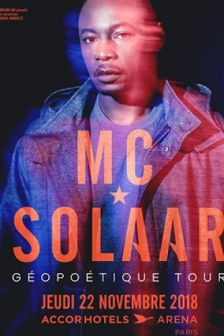Concert MC SOLAAR à PARIS @ ACCORHOTELS ARENA - Billets & Places