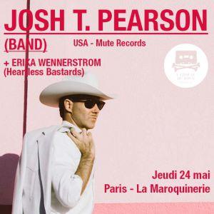 Josh T. Pearson Band + Erika Wennerstrom @ La Maroquinerie - PARIS
