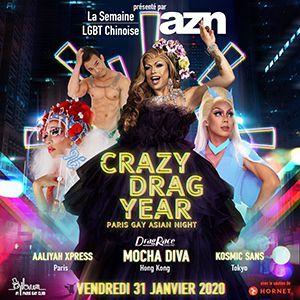 Azn : Crazy Drag Year 2020 !