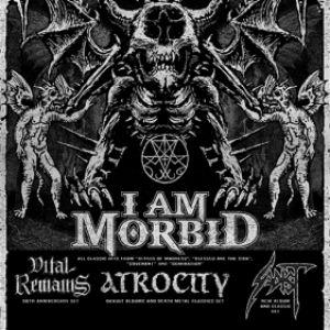 """Morbidfest"" I Am Morbid + Vital Remains + Atrocity + Sadist"