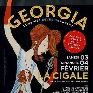 Spectacle Georgia Tous mes Rêves Chantent