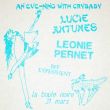 Concert LÉONIE PERNET + LUCIE ANTUNES
