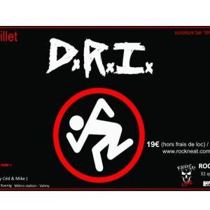 D.R.I + Guest