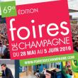 Salon FOIRES DE CHAMPAGNE 2016 à Troyes @ LE CUBE - Parc des Expositions - Billets & Places