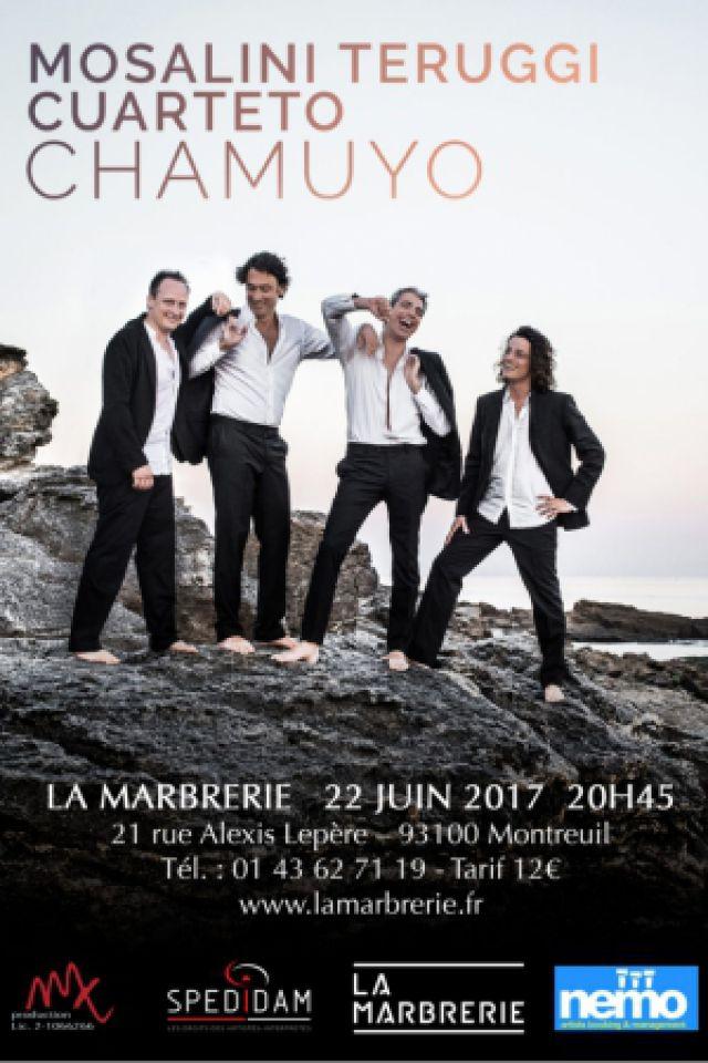 Billets Chamuyo : Mosalini & Teruggi Cuarteto - La Marbrerie