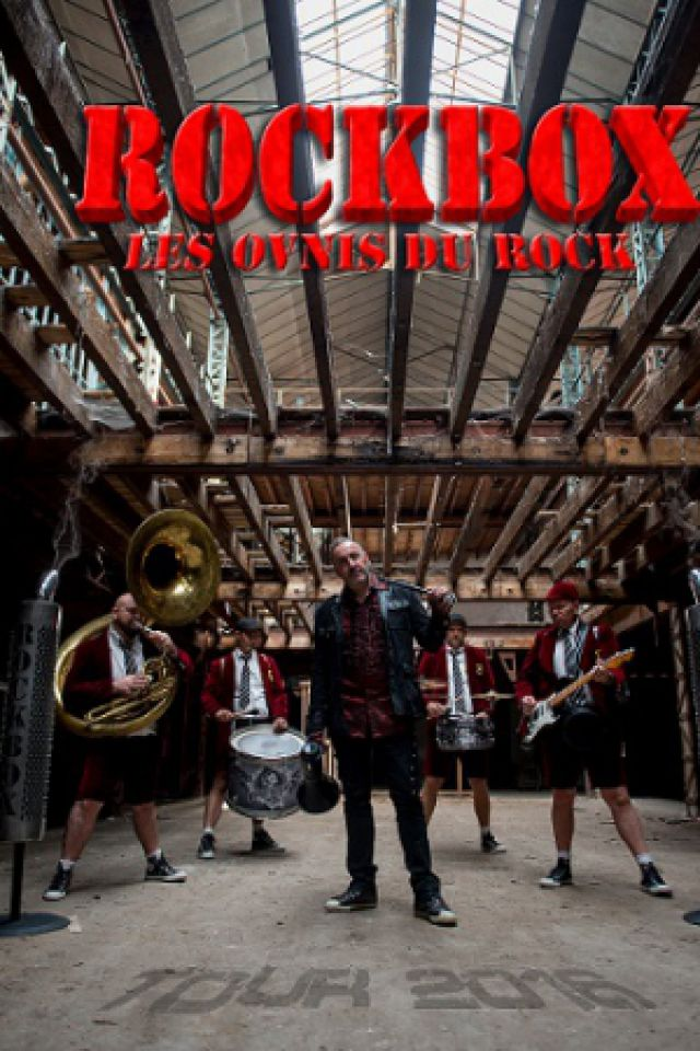 ROCKBOX LES OVNIS DU ROCK ! @ Le Rex - TOULOUSE