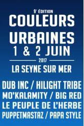 FESTIVAL COULEURS URBAINES 9ème édition - JOUR 2
