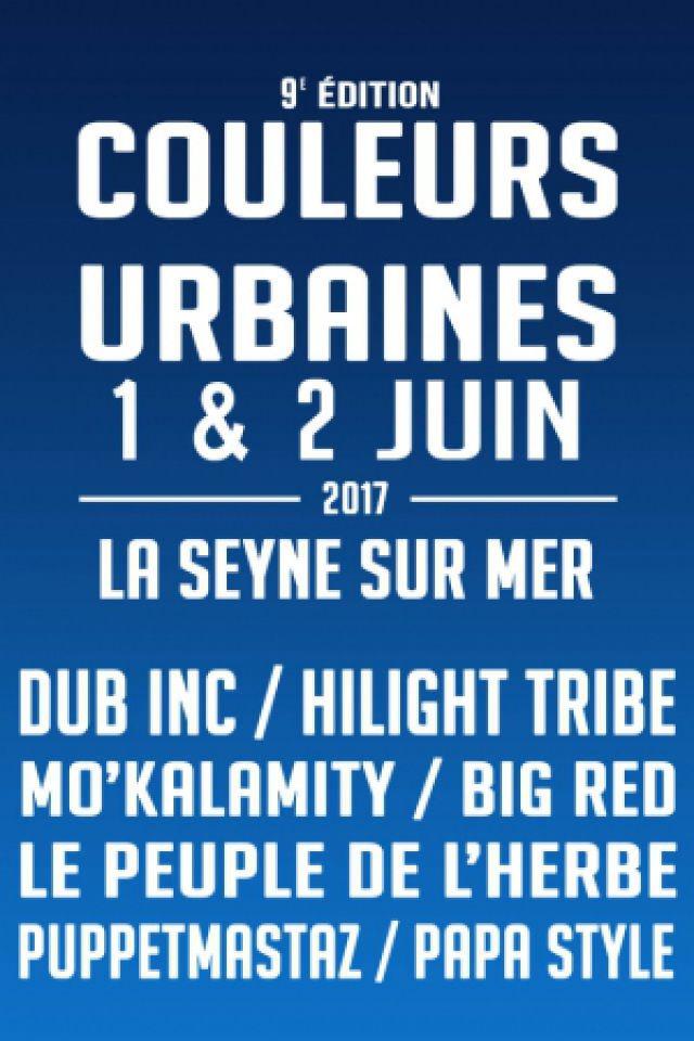 FESTIVAL COULEURS URBAINES 9ème édition - JOUR 2 à LA SEYNE SUR MER @ Espace Circoscene - Chapiteaux de la mer - Billets & Places