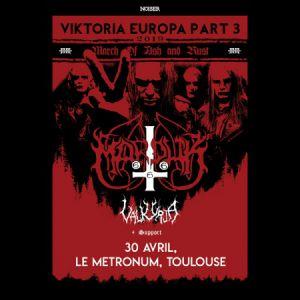 Noiser Présente : Marduk / Valkyrja + Guests @Le Metronum