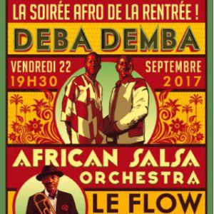 Billets African Salsa Orchestra & Debademba - FLOW