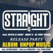 Affiche Straight - release party - album unpop music