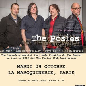 THE POSIES @ La Maroquinerie - PARIS