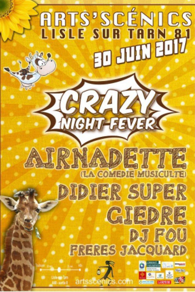 Airnadette, Giedre, Didier Super, DJ Fou, Les freres Jaquard @ plein air - LISLE SUR TARN