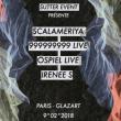 Soirée  Scalameriya / 999999999 Live / Öspiel Live / Irenee S à PARIS 19 @ Glazart - Billets & Places