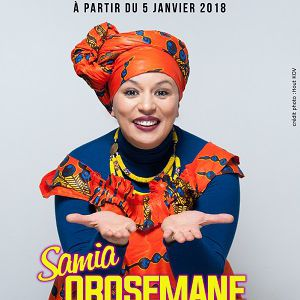 SAMIA OROSEMANE @ APOLLO THEATRE - PARIS