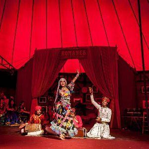 BEGAM BATOOL et LES GITANS DU RAJASTHAN ! @ Chapiteau du Cirque Romanes  - PARIS