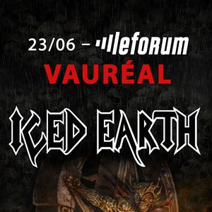 Iced Earth @ Le Forum - Vauréal