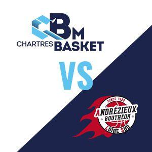 Match C'chartres Basket M Vs Andrézieux Bouthéon - Nm1