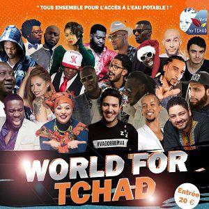 Spectacle Caritatif WORLD FOR TCHAD 2018 @ LE BATACLAN - PARIS