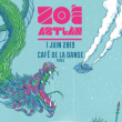 Concert Zoé à Paris @ Café de la Danse - Billets & Places