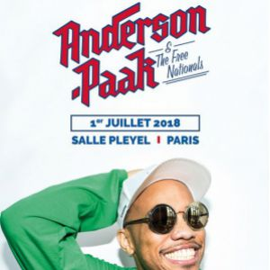ANDERSON .PAAK & THE FREE NATIONALS @ Salle Pleyel - Paris