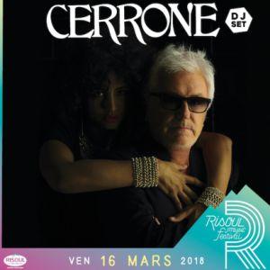 CERRONE DJ SET /  RISOUL MUSIC FESTIVAL @ ESPACE RENCONTRE DE RISOUL - RISOUL
