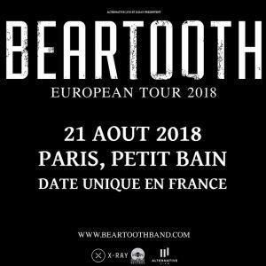 BEARTOOTH + LOATHE + SKYWALKER @ Petit Bain - PARIS