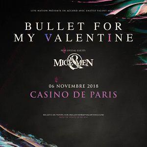 BULLET FOR MY VALENTINE @ Casino de Paris - Paris