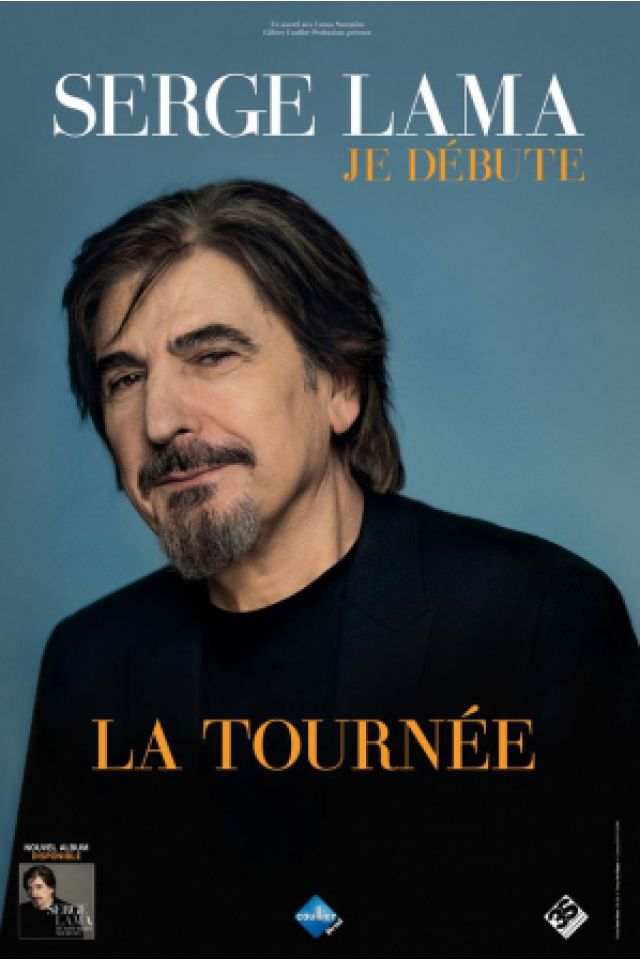 SERGE LAMA @ Salle Pleyel - Paris