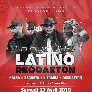 La Nuit 100% Latino Reggaeton