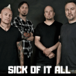Concert SICK OF IT ALL + WORST DOUBT + LUGOSI