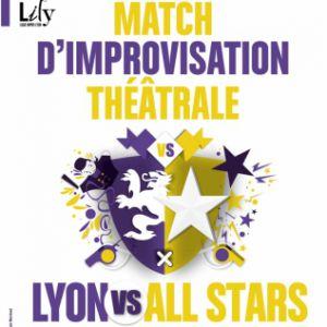 MATCH D'IMPROVISATION - LILY VS ALL STARS @ TRANSBORDEUR - Villeurbanne