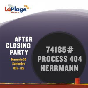 AFTER CLOSING PARTY @ Glazart - PARIS 19