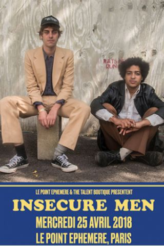 Billets  INSECURE MEN + RAF RUNDELL - Point Ephémère