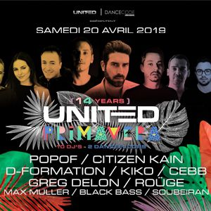 United Primavera - Popof, Citizen Kain, D Formation, Kiko